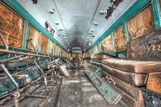 abandoned trains   ABANDONED TRAIN