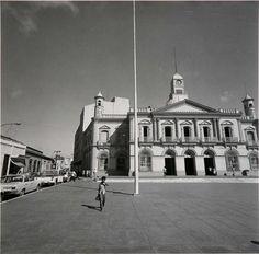 Plaza central de Villahermosa, Mexico