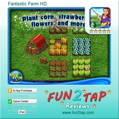 Fantastic Farm HD - Casual farming - well done. Full review at: http://fun2tap.com/index.cfm#id246 --------------------------------------  #Apps  #Games #iPad #iPhone #Casualgames