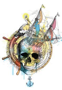Explore Yourself, A3 print by Nikola Milenov, via Behance
