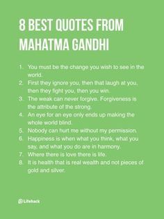 Powerful Advice From Mahatma Gandhi That Everyone Should Read