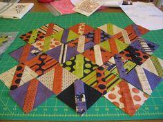 charm square quilt idea
