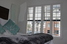 Shutter Supreme proudly offer a full superiorly manufactured range of shutters. Our full range including wood, aluminium and plastic (ASA) shutters Security Shutters, Bean Bag Chair, Windows, Bedroom, Gallery, Wood, Furniture, Home Decor, Decoration Home
