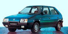 Favorit — последний собственный автомобиль марки Skoda Skoda Fabia, Love Car, Car Brands, Volkswagen, Porsche, Classic Cars, Automobile, Van, Vehicles