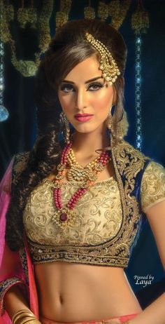 Bridal Beauty❋Indian Bride❋Laya
