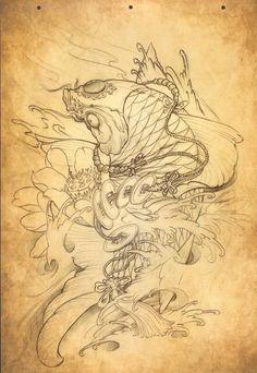 Chinese traditional tattoo book – 53 фотографии