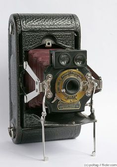 Kodak Eastman: Folding Pocket No.1 Mod C camera