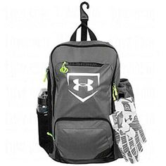 2d2250b923 Under Armour Shut Out Baseball Softball Backpack Bag Softball Bags