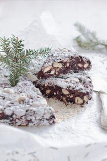 Wiem co jem: Panforte nero Baked Goods, Gluten Free, Sweets, Cookies, Chocolate, Baking, Cake, Food, Pastries