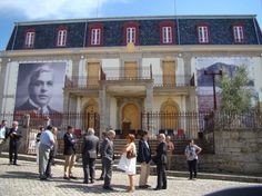 Dedication of the the first phase of the reconstruction of Aristides de Sousa Mendes' home in Cabanas de Viriato into a museum. Mendes served as Portuguese consul in Bordeaux, France, during World War II and saved the lives of thousands of Jewish refugees. As the Portuguese Consul-General he defied the orders of Portugal's dictatorship issuing visas and passports to thousands of refugees fleeing from the Germans. He was honored posthumously by Yad Vashem as Righteous Among the Nations,
