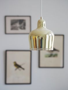 Alvar Aalto Golden Bell Pendant Lamp by Artek Retro Lighting, Interior Lighting, Home Lighting, Lamp, Pendant Lamp, Artek, Art Deco Colors, Artek Lamp, Dream Decor
