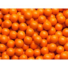 Orange Mini Chocolate Balls Candy: 5LB Bag
