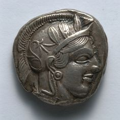 Stater, 514-407 BC Greece, Athens, late 6th-early 4th Century BC  silver