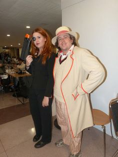 Amy Pond and the fifth Doctor #NYCC