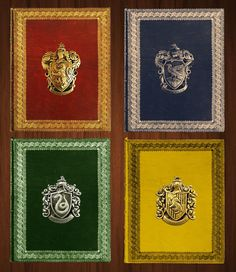 Mock up Harry Potter House Palettes!! - If only they really existed. HP fans should check this out - reddit user SpellsandStars mocked this up
