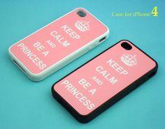 phone 4 case - Keep Calm series, iphone case