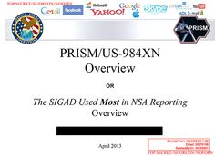 A slide briefing analysts at the National Security Agency about the program touts its effectiveness and features the logos of the companies involved. Via Washingtonpost.com