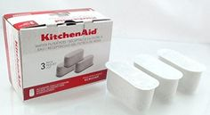 New KitchenAid Coffee Maker Water Filter Pods 3 Pack Models KCM222  223 KCM22WF *** More info could be found at the image url.  This link participates in Amazon Service LLC Associates Program, a program designed to let participant earn advertising fees by advertising and linking to Amazon.com.