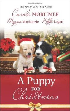 Book 45-A Puppy For Christmas by Carole Mortimer; A book set during Christmas. Completed 31/08/15. #2015readingchallenge