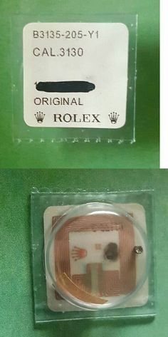 Watches for Parts 165144: Rolex Cal 3135 Sliding Pinion Genuine 3135-205 Factory Sealed Package -> BUY IT NOW ONLY: $59.95 on eBay!