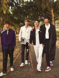 Baekhyun, Kai, Chen, Chanyeol - 190501 Third official photobook 'PRESENT ; Chanbaek, Exo Ot12, Kaisoo, Exo Chen, Exo Kai, Exo For Life, Exo Group, Exo Lockscreen, Baekhyun Chanyeol