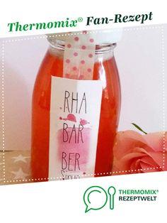 Rhabarber-Sirup von Backingstar. Ein Thermomix ® Rezept aus der Kategorie Getränke auf www.rezeptwelt.de, der Thermomix ® Community.
