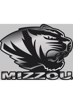 "Missouri Tigers 4""x5"" Metallic Logo Mizzou Decal http://www.rallyhouse.com/shop/missouri-tigers-missouri-tigers-4x5-metallic-logo-mizzou-decal-8032391?utm_source=pinterest&utm_medium=social&utm_campaign=Pinterest-MizzouTigers $5.99"