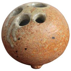 1960s Tom McMillin Ceramic Rock Vase 1