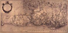 carta topográfica de Lisboa