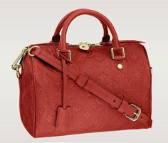 speedy louis vuitton monogram empreinte