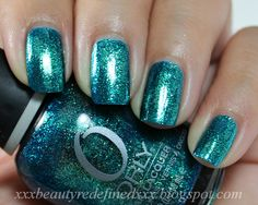 Orly Cosmic FX Collection Swatches - It's Not Rocket Science, Space Cadet, Halleys Comet, Out of this World