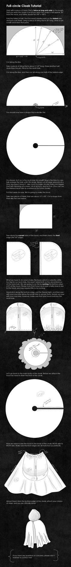 Full-Circle Cloak Tutorial by ti-DESIGN.deviantart.com on @deviantART