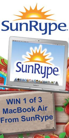 Win 1 of 3 MacBook Air From SunRype