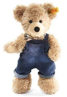 Steiff Fynn Teddy Bear Flap Trousers, Be...