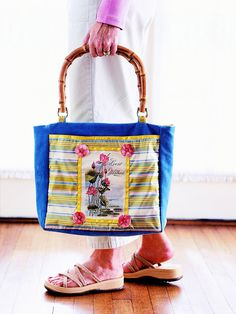Easy-to-Sew Bags for Every Occasion-Embellished-Pocket Tote