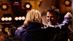 Possibly the cutest picture of Ten and Rose ever!!!!