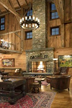 Barn converted into house. Love this!