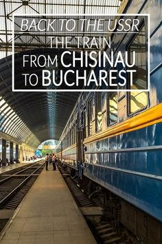 Why not take the train when you travel between Moldova and Romania! This train from Chisinau to Bucharest is like going back to the USSR. Europe Travel Guide, Europe Destinations, Travel Guides, Ways To Travel, Travel Tips, Travel Stuff, Travel Advice, Budget Travel, By Train