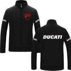 61da2ab342d4 2018 DUCATI Formula One F1 Car Racing Sport Champion Red LOGO Men Jacket  Sweater | Shopee