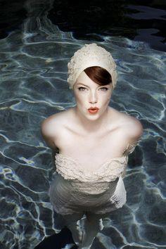 Emma Stone as Glamour's May 2011 star, by kurt iswarienko