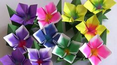 Sandra Gobert - Pensarte e artesanato Origami Modular, Origami Diy, Origami Paper, Paper Art Projects, 3d Paper Crafts, Diy Paper, Handmade Flowers, Diy Flowers, Paper Flowers
