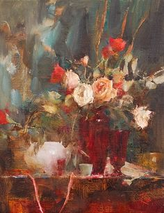 Laura Robb grew up in Tulsa, Oklahoma and entered art school at the age of sixteen. In 1974, Laura moved to New York City to study with Michael Aviano, and after returning to the Southwest, had the opportunity to receive critiques of her work by Richard Schmid.