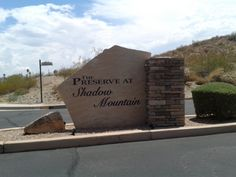 Preserve at Shadow Mountain Property Management.  Call Market Edge Realty LLC at (480) 382-9681