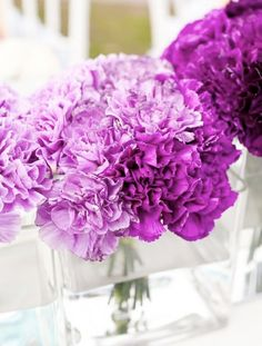 purple ombre wedding flowers.001 - Wedding Ideas, Wedding Trends, and Wedding Galleries