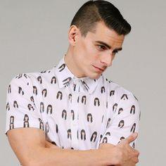 Girlfriend / Boyfriend  Personalized Crisp Button Up Shirt by RogueMinxClothing - better not break up!