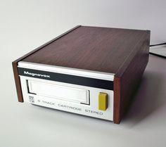 Vintage Magnavox 8-Track Tape Player Stereo Component by PoorLittleRobin, $28.00