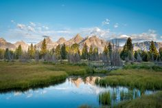 Schwabacher's Landing Grand Teton National Park Wyoming USA [OC][5138x3425]   landscape Nature Photos