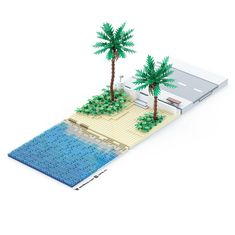 Lego Beach, Beach Shower, Lego Projects, Lego Moc, Legos, Beach Mat, Outdoor Blanket, Beach Ideas, Plates