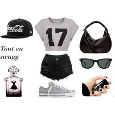 Tenue swagg pour fille