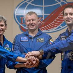 The 2016 Expedition 50 crew in Baikonur - Kazakhstan